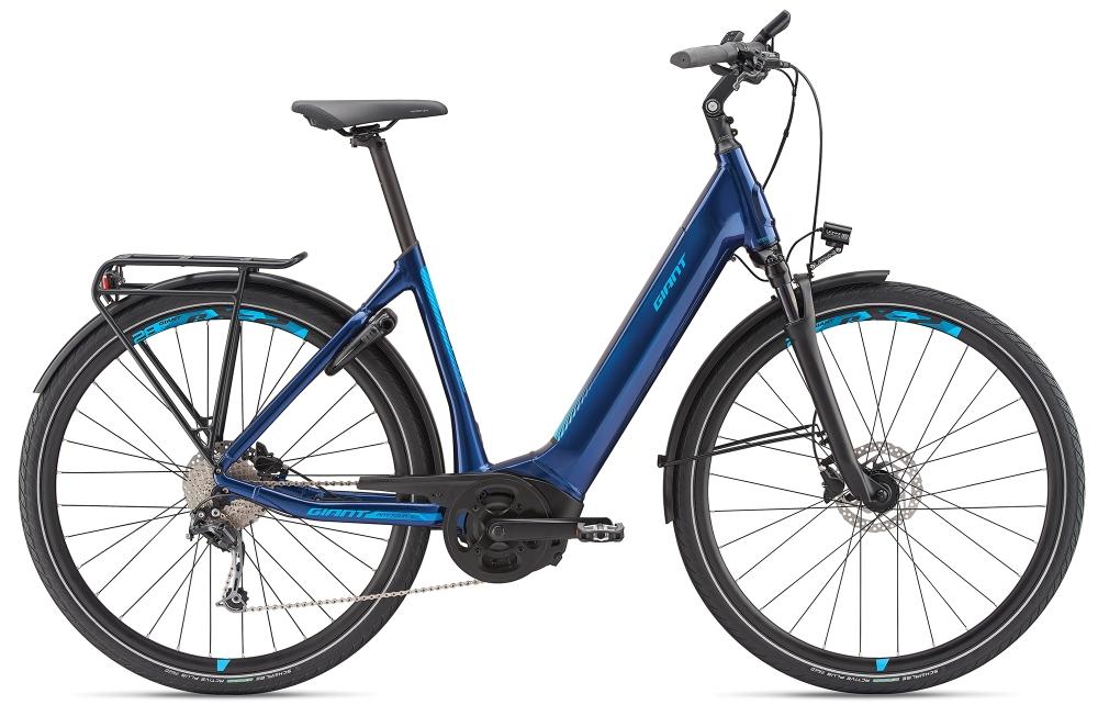 GIANT AnyTour E+ 2 LDS S Metallicblue - Bike Maniac