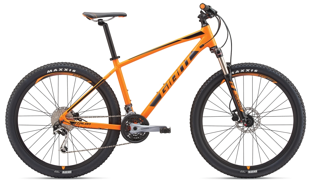 GIANT Talon 2 S Neonorange-Black-Grey - Bike Maniac