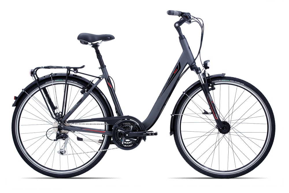 GIANT Argento LDS S Charcoalgrey-Black-Red Matt-Gloss - Fahrradhaus Haske