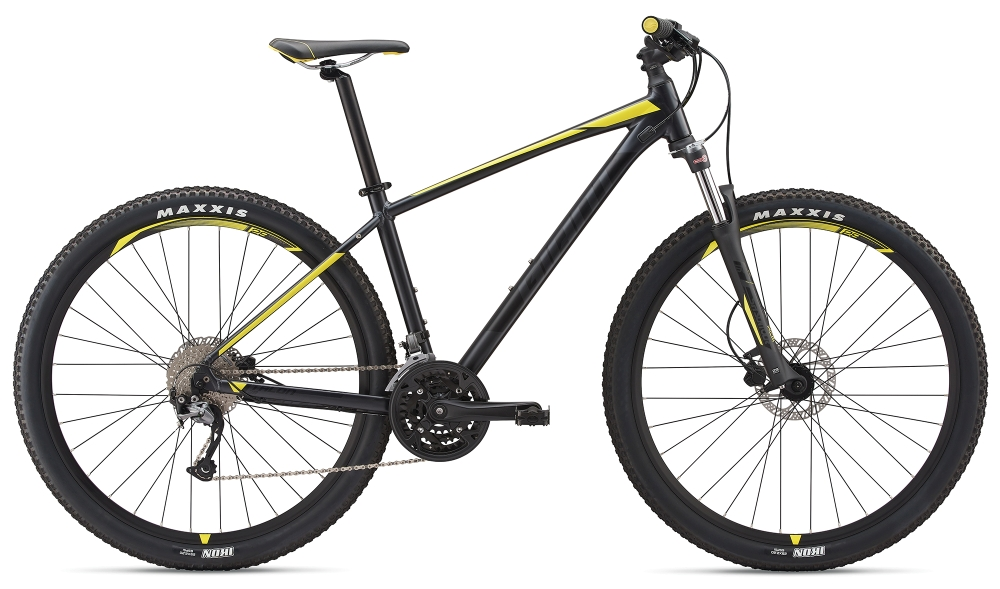 GIANT Talon 3 29er M Metallicblack-Lemonyellow Matt - Bike Maniac