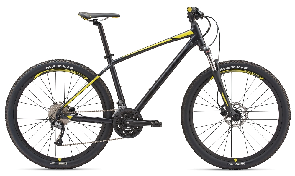 GIANT Talon 3 S Metallicblack-Lemonyellow Matt - Bike Maniac