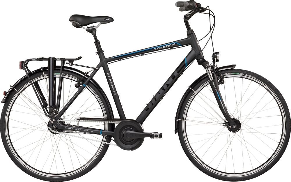 GIANT Tourer GTS L Black-Blue Matt-Gloss - Fahrradhaus Haske