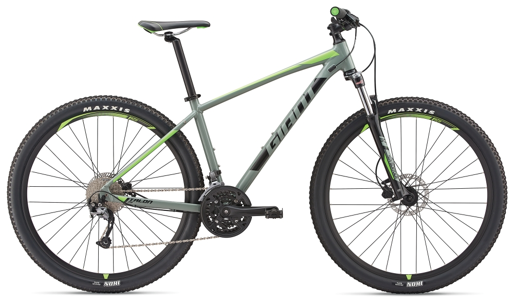 GIANT Talon 3 29er XL Grey-Black-Neongreen - Bike Maniac