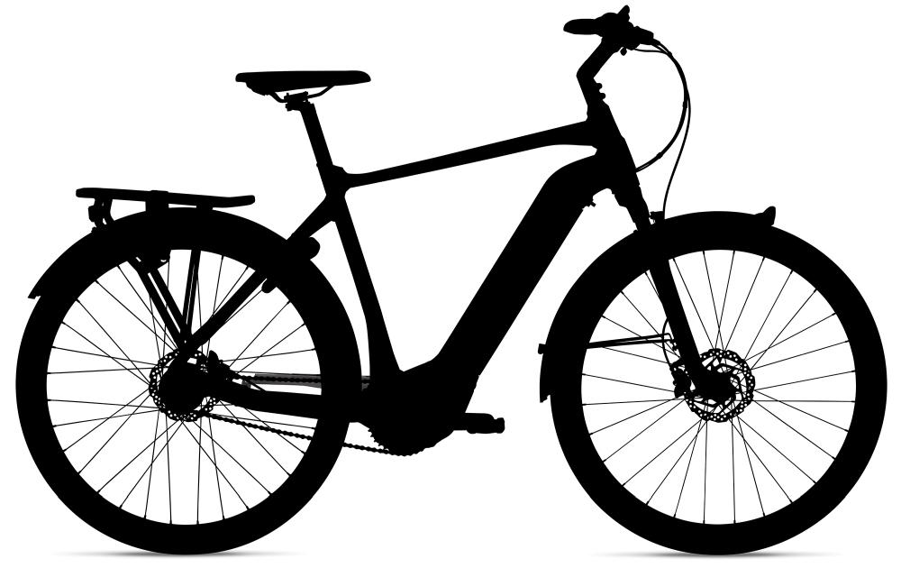 GIANT DailyTour E+ 1 GTS L Black - Fahrradhaus Haske