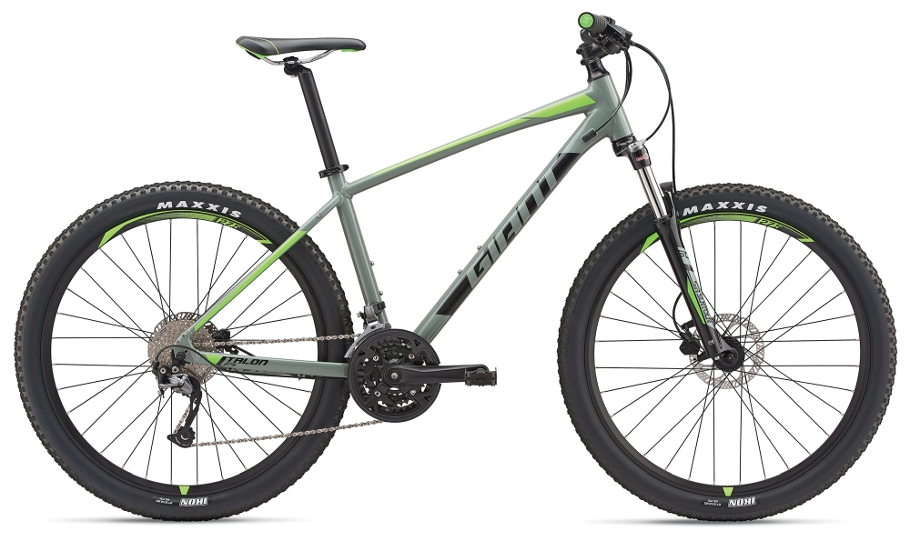 GIANT Talon 3 L Grey-Black-Neongreen - Fahrradhaus Haske