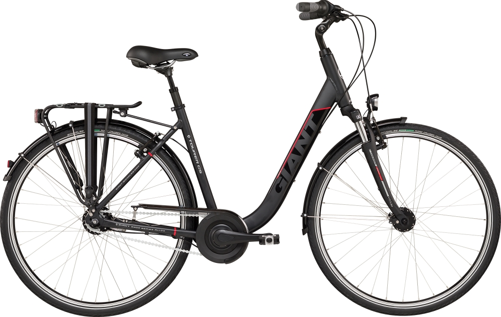 GIANT Tourer LDS L Black-Red Matt-Gloss - Fahrradhaus Haske