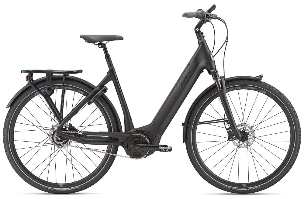 GIANT DailyTour E+ 1 LDS S Black - Bike Maniac