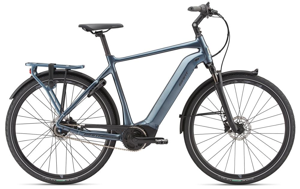 GIANT DailyTour E+ 2 GTS L Steelblue - Fahrradhaus Haske