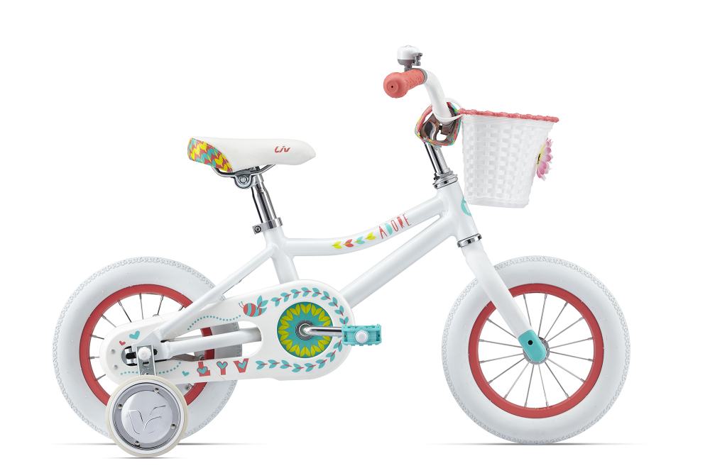 LIV Adore Pearl White/Coral (2er Pack) 12´´ - Bergmann Bike & Outdoor
