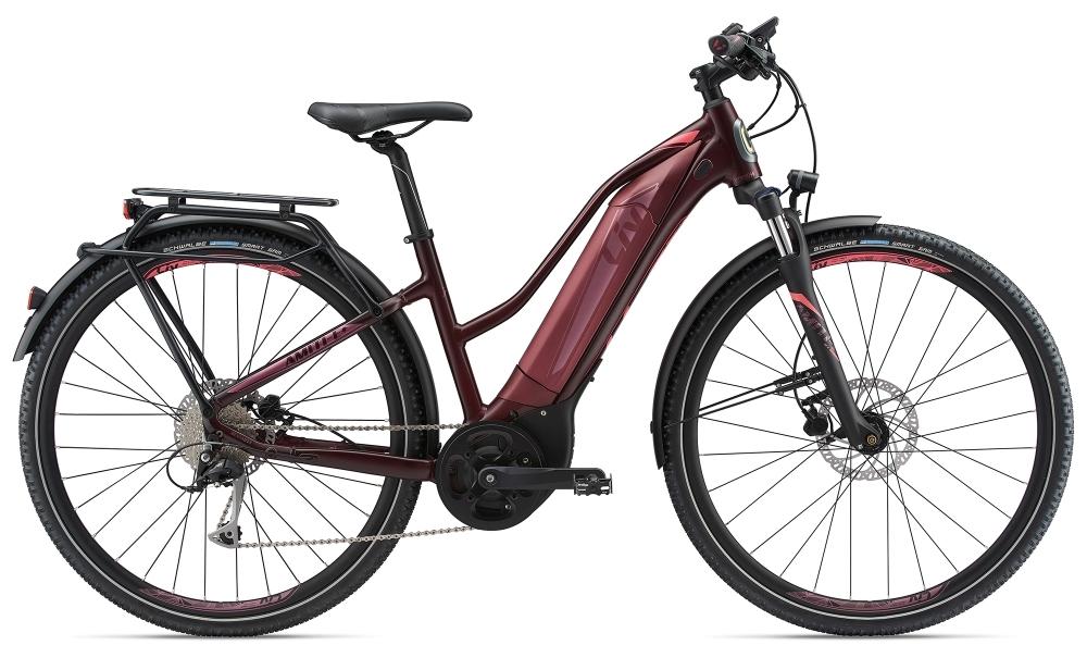 LIV Amiti-E+1 S5 25km/h L Dark Red L - Fahrradhaus Haske