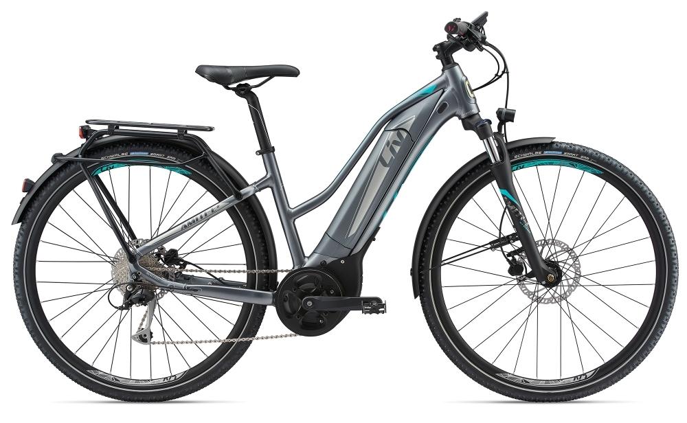 LIV Amiti-E+1 S5 25km/h L Dark Silver L - Fahrradhaus Haske