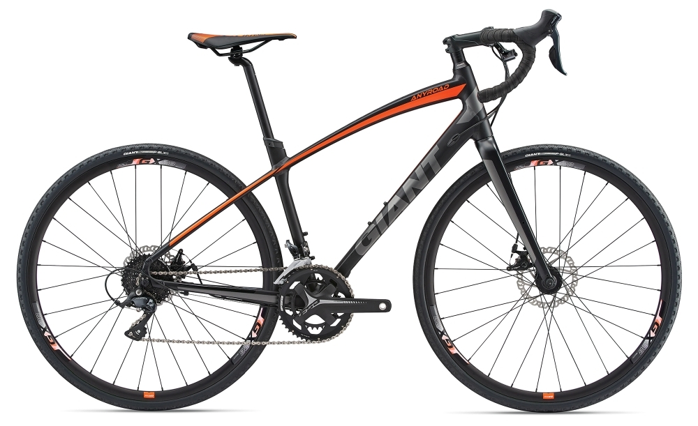 GIANT AnyRoad 2 S Black S - Fahrradhaus Haske