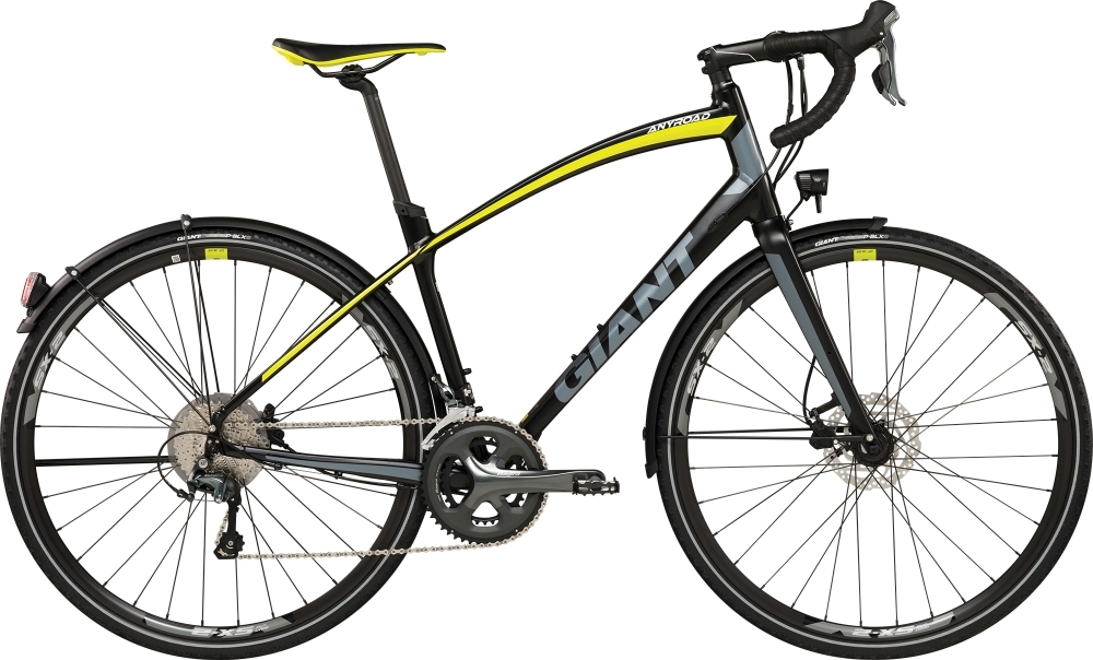 GIANT AnyRoad EX XL Black XL - Zweirad Posdziech Onlineshop -  E-Bike   Bochum