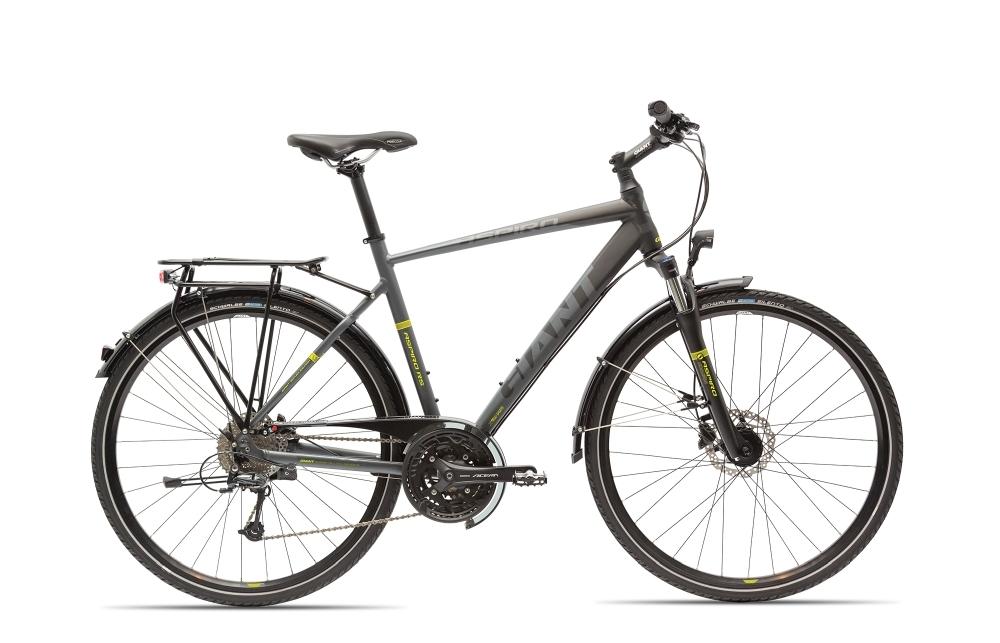 GIANT Aspiro 2 GTS L Black/Lime L - Fahrradhaus Haske