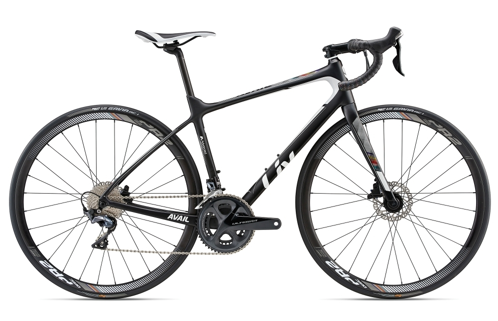 LIV Avail Advanced 1 XS Black/White XS - Bike Maniac