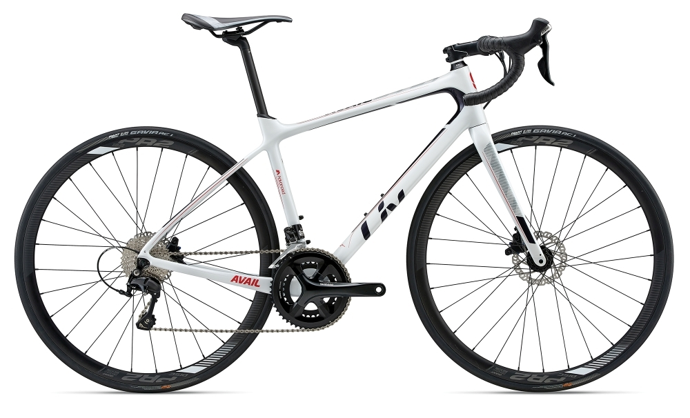 LIV Avail Advanced 2 L White L - Fahrradhaus Haske