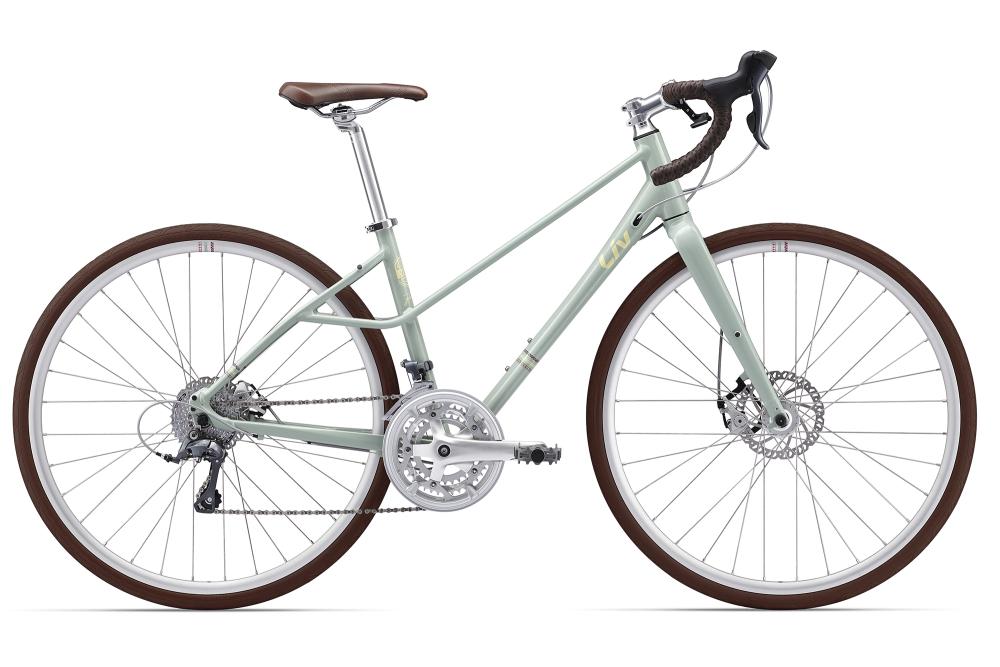 LIV BeLiv 2 Grey Green XS - Bergmann Bike & Outdoor