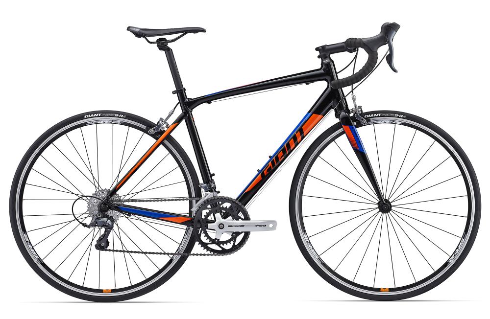 GIANT Contend 3 Black/Orange XS - Bergmann Bike & Outdoor