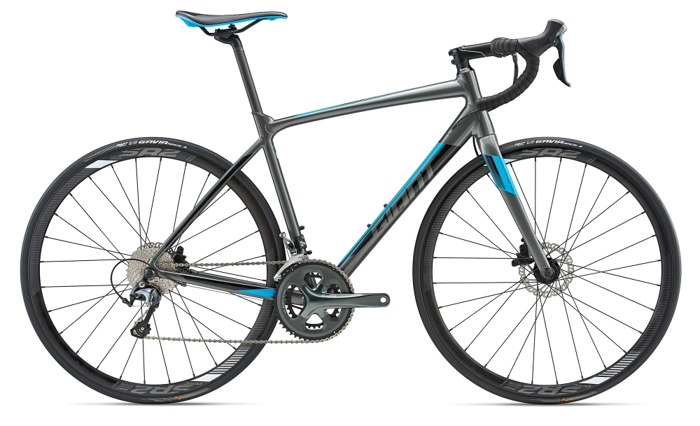 GIANT Contend SL 2 Disc S Charcoal S - Bergmann Bike & Outdoor