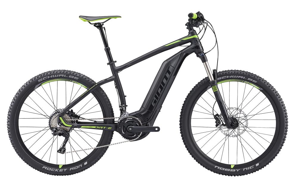 GIANT Dirt-E+ 0.5 Black/Green S - Bergmann Bike & Outdoor