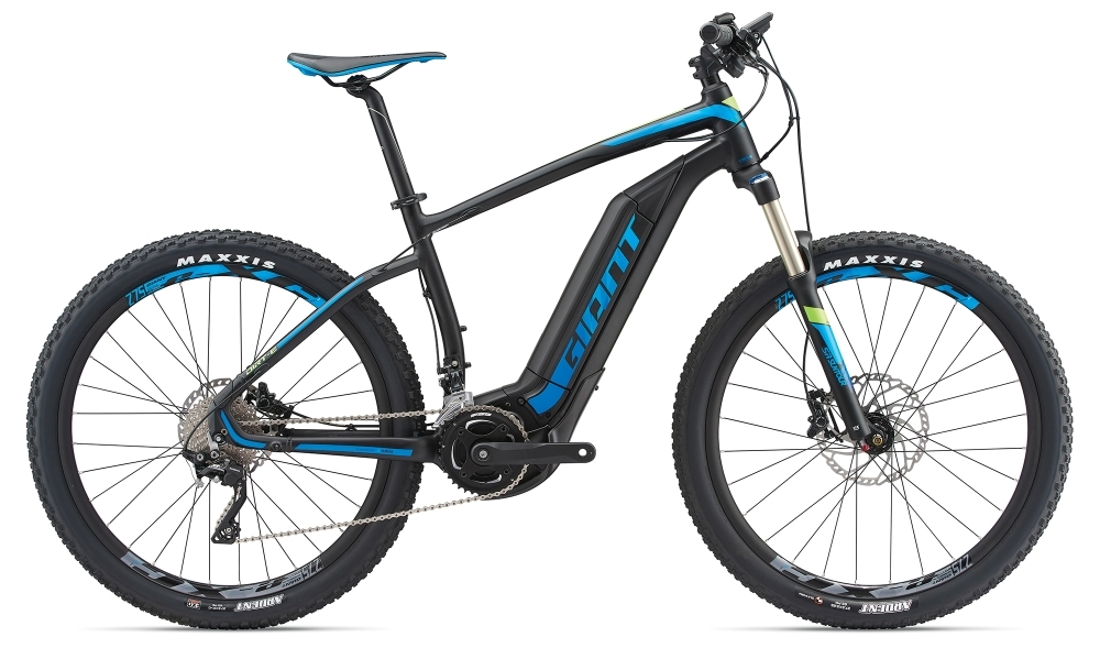 GIANT Dirt-E+ 1 25km/h L Black/Blue/Green L - Fahrradhaus Haske
