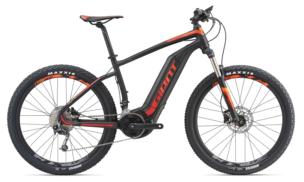 GIANT Dirt-E+ 2 S5 25km/h XL Black/Red/Orange XL - GIANT Dirt-E+ 2 S5 25km/h XL Black/Red/Orange XL
