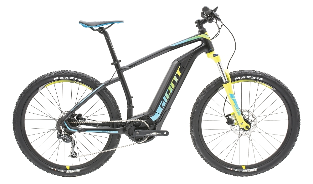 GIANT Dirt-E+ 3 25km/h L Black/Blue/Yellow L - Fahrradhaus Haske