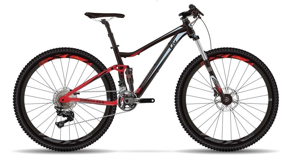 LIV Embolden 0 GE L Black/Red L - Bergmann Bike & Outdoor