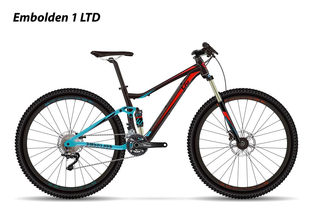 LIV Embolden 1 LTD Black XS - Bergmann Bike & Outdoor