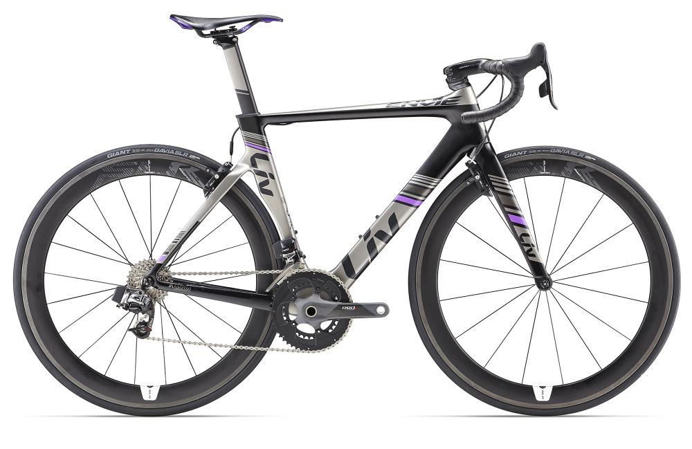 LIV Envie Advanced Pro 0 Charcoal/Purple XS - Bergmann Bike & Outdoor