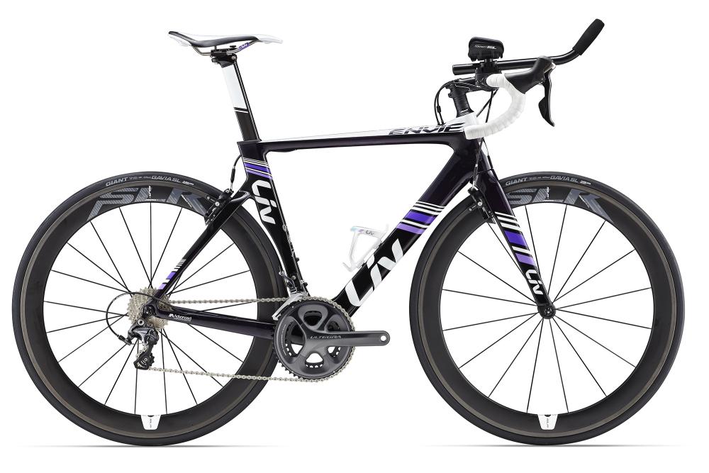 LIV Envie Advanced TRI 1 Dark Purple XS - Bergmann Bike & Outdoor