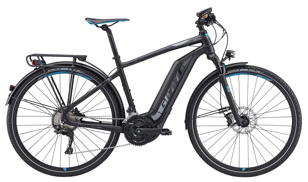 GIANT Explore E+ 0 Black/Blue M - Bergmann Bike & Outdoor