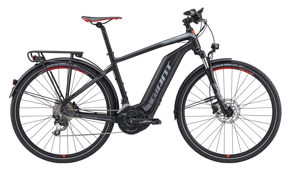 GIANT Explore E+ 1 GTS Black/Red POWER S - Bergmann Bike & Outdoor