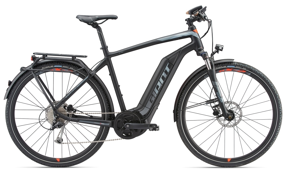 GIANT Explore E+ 2 GTS 25km/h XL Black/Red XL - Fahrradhaus Haske