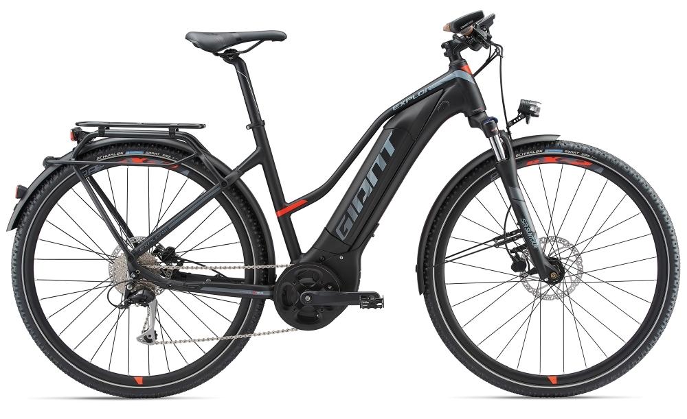 GIANT Explore E+ 2 S5 STA 25km/h S Black/Red S - Bike Maniac