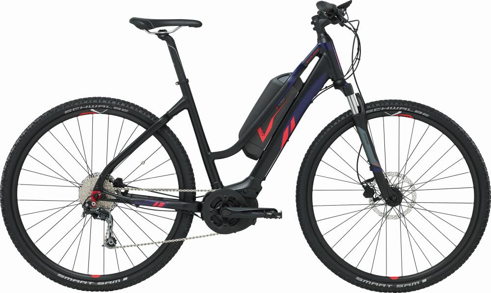 GIANT Explore E+ 2 STA Black/Indigo/Red S - Bergmann Bike & Outdoor