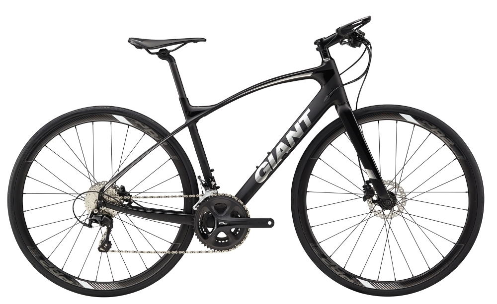GIANT FastRoad CoMax 1 S Black S - Fahrradhaus Haske