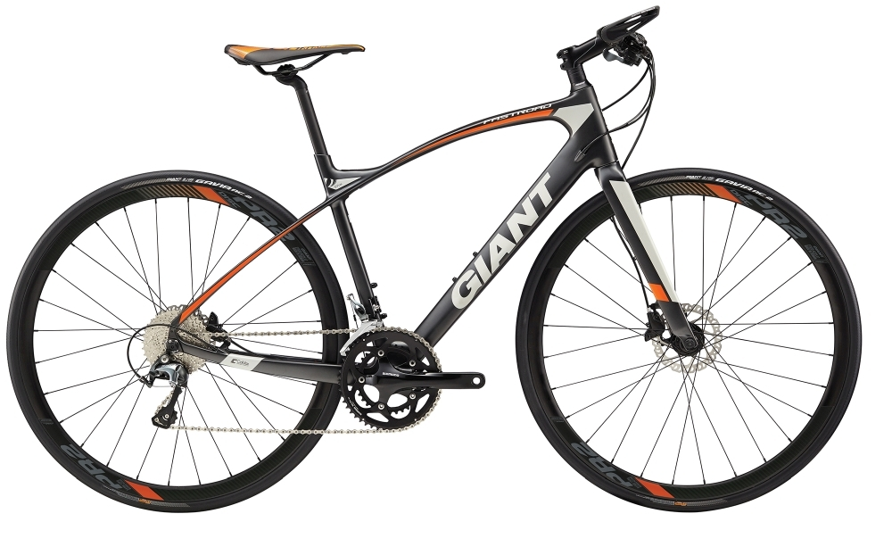GIANT FastRoad CoMax 2 S Charcoal S - Bergmann Bike & Outdoor