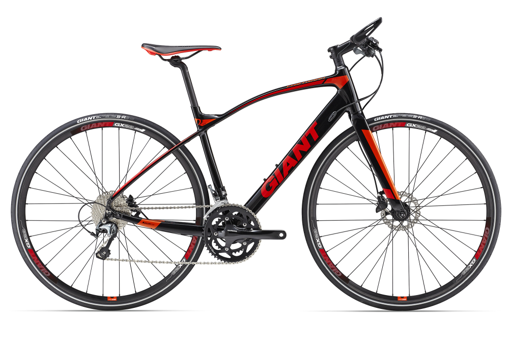 GIANT FastRoad SLR 1 Black S - Bergmann Bike & Outdoor