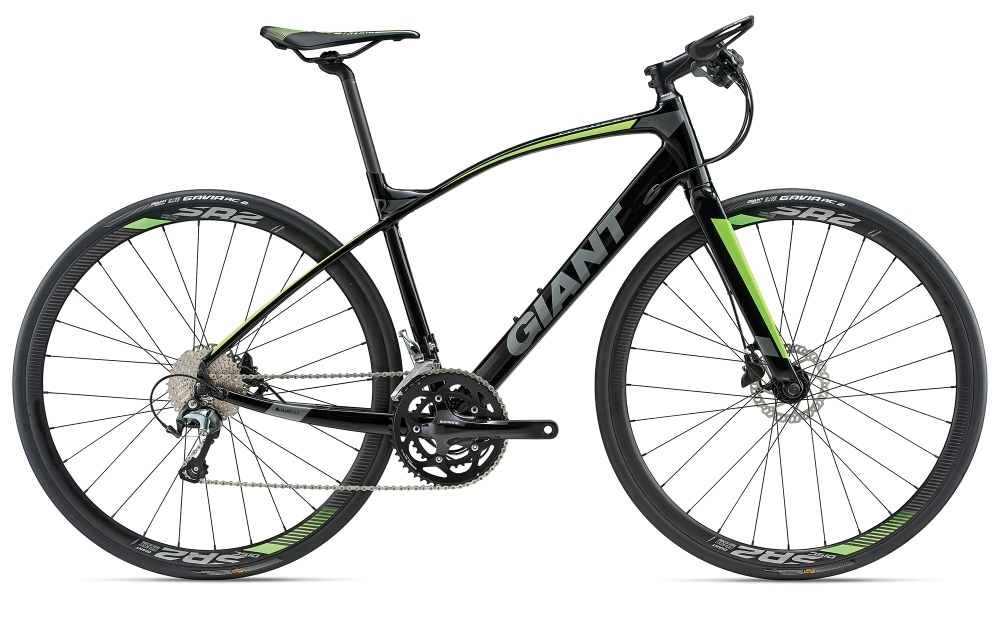 GIANT FastRoad SLR 1 S Black S - Bike Maniac