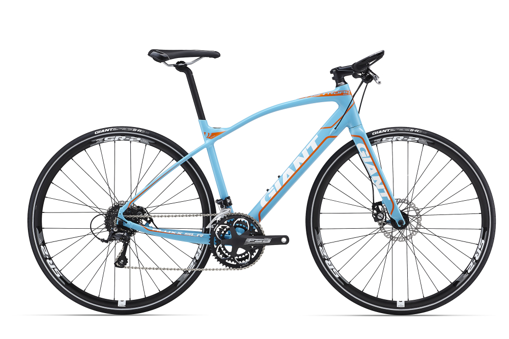 GIANT FastRoad SLR 2 Blue S - Bergmann Bike & Outdoor