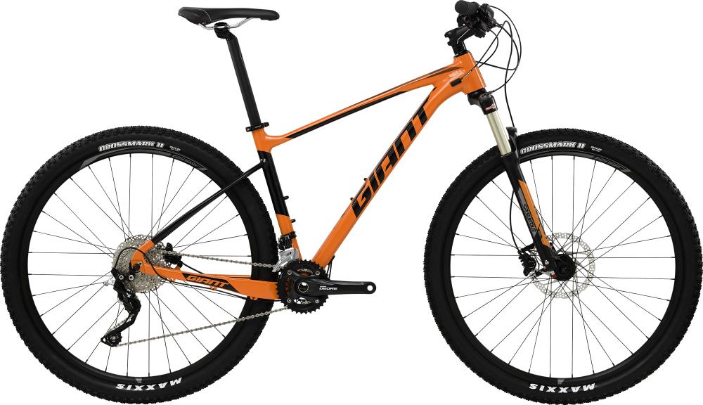 GIANT Fathom 29er 2 LTD Orange S - Bergmann Bike & Outdoor