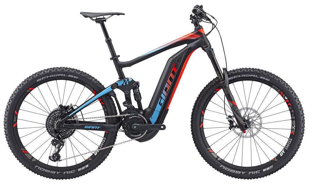 GIANT Full-E+ 0 SX BLK/BLU/RED S - Bergmann Bike & Outdoor