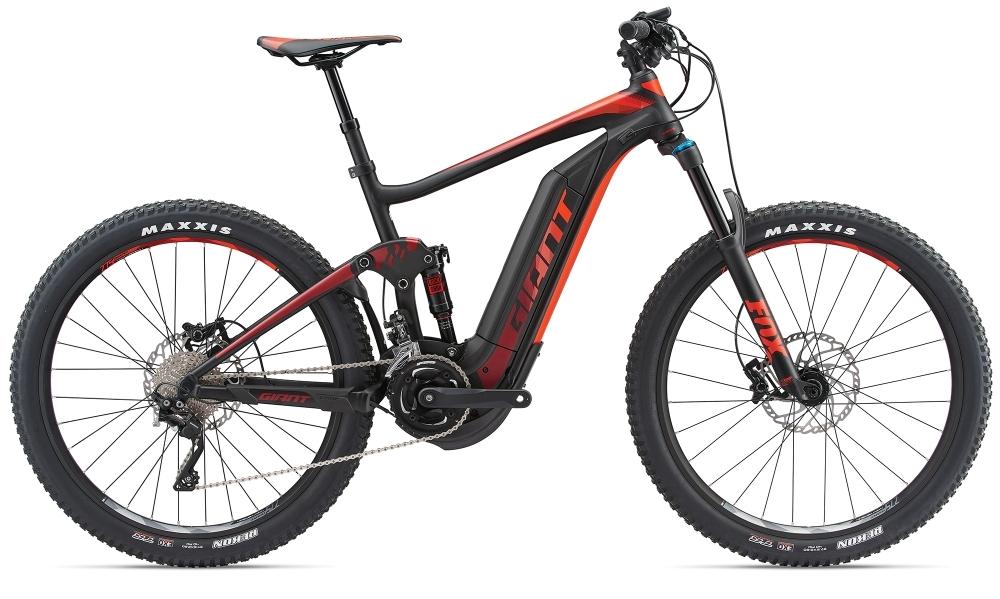GIANT Full-E+ 1.5 Pro 25km/h L Black/Red L - Bergmann Bike & Outdoor