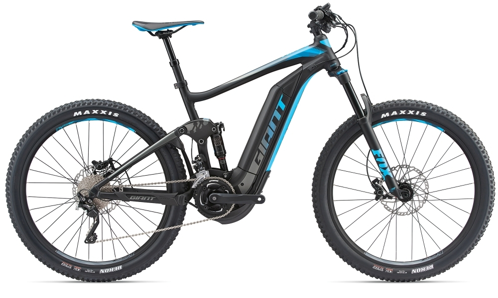 GIANT Full-E+ 1.5 Pro 25km/h S Black/Blue S - Bike Maniac