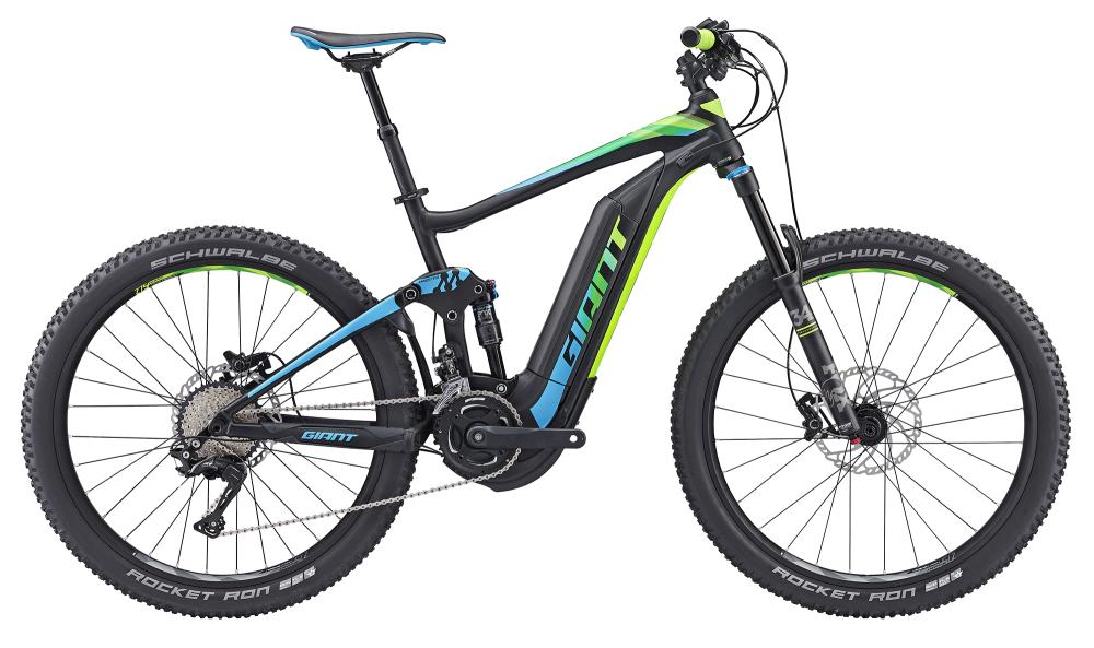 GIANT Full-E+ 1 BLK/BLU/GRN S - Bergmann Bike & Outdoor