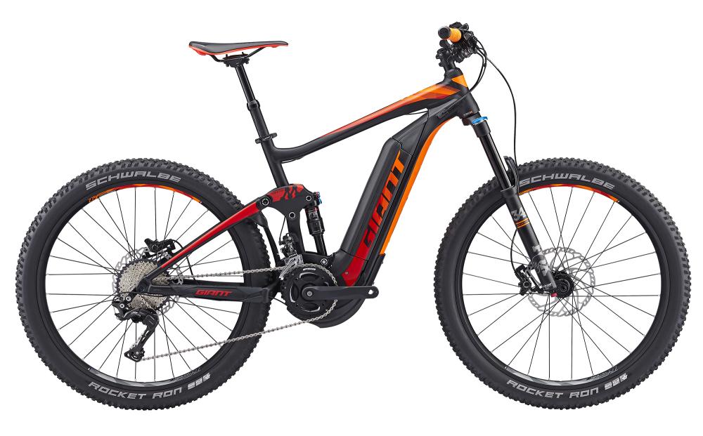 GIANT Full-E+ 1 BLK/RED/ORNG S - Bergmann Bike & Outdoor