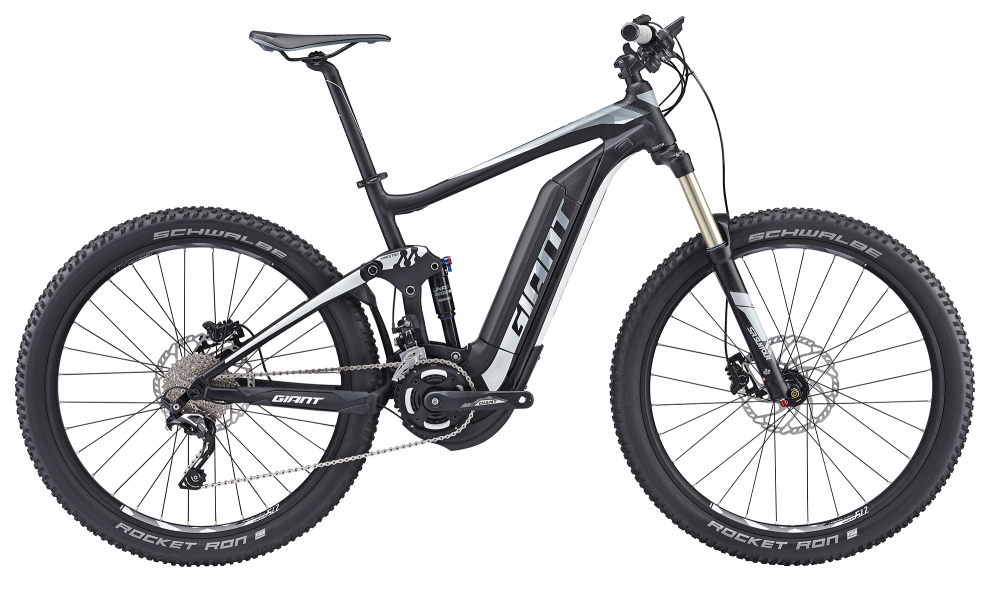 GIANT Full-E+ 2 BLK/WHT S - Bergmann Bike & Outdoor