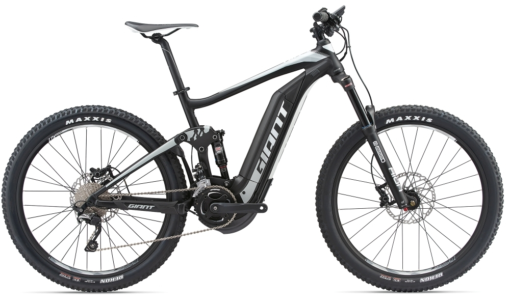 GIANT Full-E+ 2 S5 25km/h S Black/Grey/White S - Bergmann Bike & Outdoor