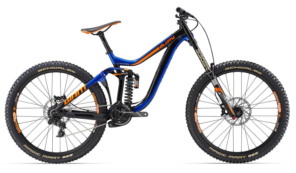 GIANT Glory 1 Black/Blue S - Bergmann Bike & Outdoor